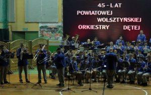 Koncert jubileuszowy z okazji 45-lecia Powiatowej Wolsztyńskiej Orkiestry Dętej
