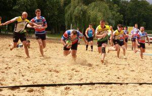 IV Plażowy Turniej Rugby w Wolsztynie