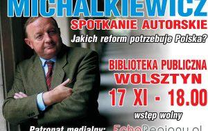 Stanisław Michalkiewcz w Wolsztynie - zaproszenie na spotkanie