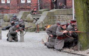 Powstanie Wielkopolskie - inscenizacja historyczna w Grodzisku Wlkp