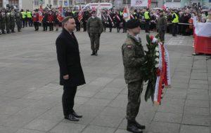 Prezydent Andrzej Duda w Kargowej
