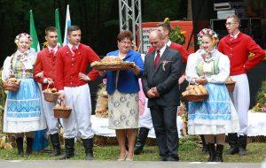 Dożynki Powiatowo-Gminne w Chobienicach