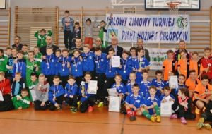 IV Halowy Zimowy Turniej Piłki Nożnej Chłopców w Grodzisku Wlkp