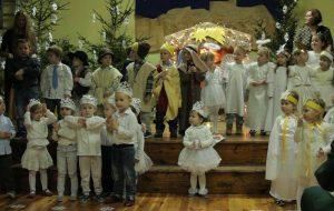Jasełka przedszkola w Chorzeminie (video)