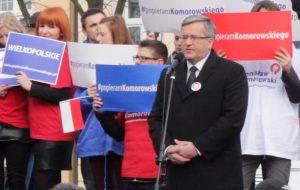 Prezydent Komorowski w Wolsztynie