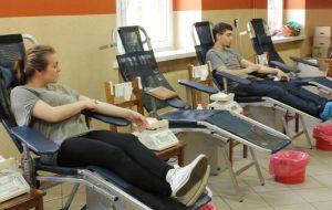 Akcja poboru krwi w ZSRiT w Powodowie
