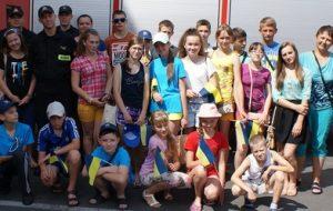 Nowy Tomyśl - kolonia dzieci z Ukrainy