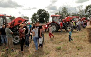 Wystawa ciągników i maszyn rolniczych w Starej Dąbrowie