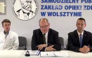 Oddział wewnętrzny w wolsztyńskim szpitalu został zamknięty (wideo)